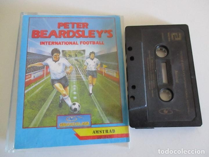 JUEGO SPECTRUM PETER BEARDSLEY´S INTERNATIONAL FOOTBALL GRANDSLAM (Juguetes - Videojuegos y Consolas - Amstrad)