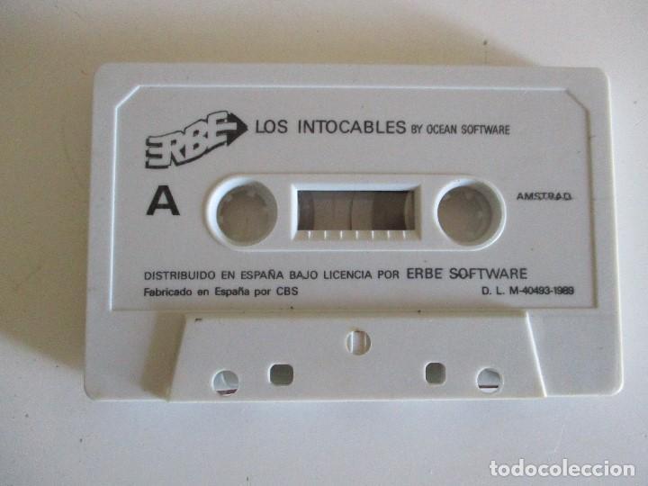 JUEGO AMSTRAD LOS INTOCABLES (Juguetes - Videojuegos y Consolas - Amstrad)
