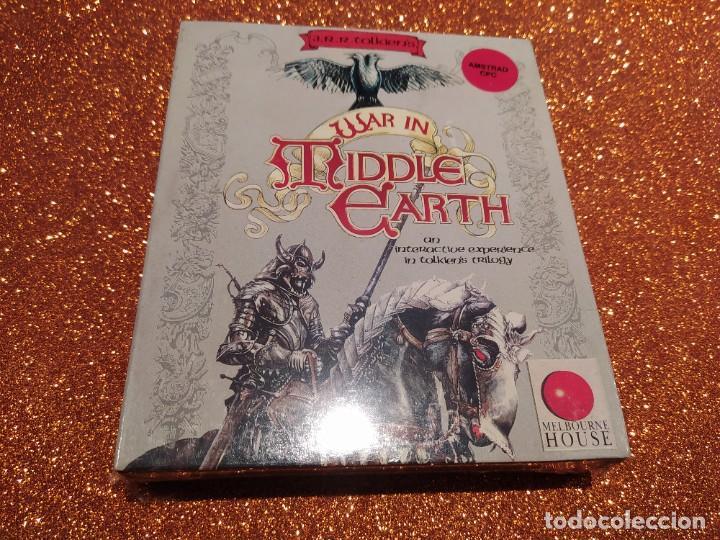 VIDEOJUEGO PRECINTADO AMSTRAD WAR IN MIDDLE EARTH. AÑOS 80, NO SPECTRUM, MSX, COMMODORE (Juguetes - Videojuegos y Consolas - Amstrad)