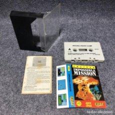 Videojuegos y Consolas: IMPOSSIBLE MISSION AMSTRAD CPC. Lote 206293098