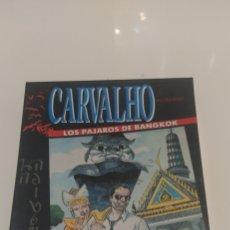 Videojuegos y Consolas: JUEGO CARVALHO LOS PAJAROS DE BANGKOK AMSTRAD CPC 6128 DISCO. Lote 206407696