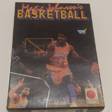 Videojuegos y Consolas: JUEGO MAGIC JOHNSON'S BASKETBALL AMSTRAD CPC 6128 DISCO. Lote 206408151