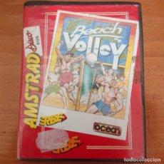 Videojuegos y Consolas: BEACH VOLLEY AMSTRAD DISKETTE SIN MANUAL. Lote 206492375
