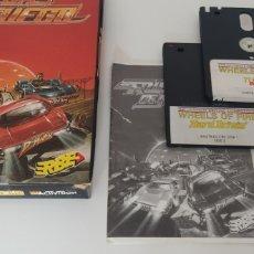 Videojuegos y Consolas: CAJA PACK RUEDAS DE FUEGO PARA AMSTRAD CPC 6128. Lote 206508750