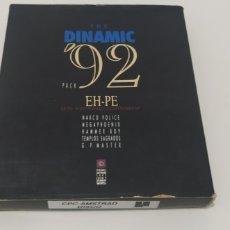 Videojuegos y Consolas: PACK CAJA THE DINAMIC 92 PARA AMSTRAD CPC 6128 DISCO. Lote 206521828