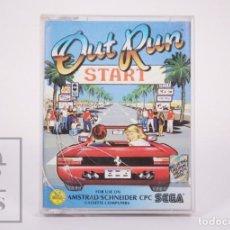 Videojuegos y Consolas: VIDEOJUEGO / JUEGO PARA AMSTRAD / SCHENIDER CPC - OUT RUN START - SEGA, 1987. Lote 206892307