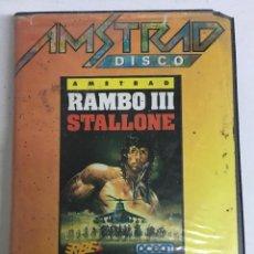 Videojuegos y Consolas: JUEGO AMSTRAD DE DISCO RAMBO III STALLONE. Lote 207112706