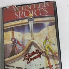 Videojuegos y Consolas: JUEGO AMSTRAS CASSETTE - WINTER SPORTS - INCLUYE MANUAL. Lote 207113868