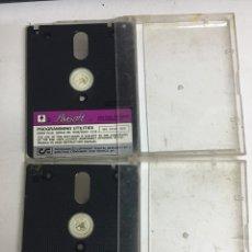 Videojuegos y Consolas: AMSTRAD SOFTWARE AMSOFT - PROGRAMMING UTILITIES - CP/M 2.2 - DR LOGO & HELP - CP/M PLUS. Lote 207114635