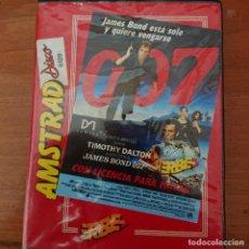 Videojuegos y Consolas: 007 LICENCIA PARA MATAR AMSTRAD DISCO 6128. Lote 207217688