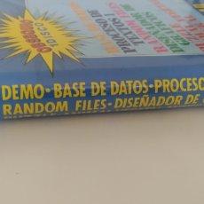 Videojuegos y Consolas: ESTUCHE SOFTWARE DE UTILIDADES Y JUEGOS INDESCOMP PARA AMSTRAD CPC DISCO.. Lote 207881816