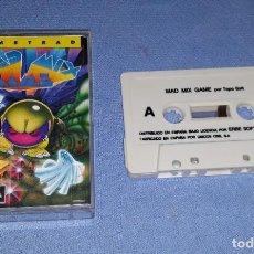 Videojuegos y Consolas: MAD MIX GAME JUEGO DE AMSTRAD IDEAL COLECCIONISTAS EN MUY BUEN ESTADO. Lote 208031685