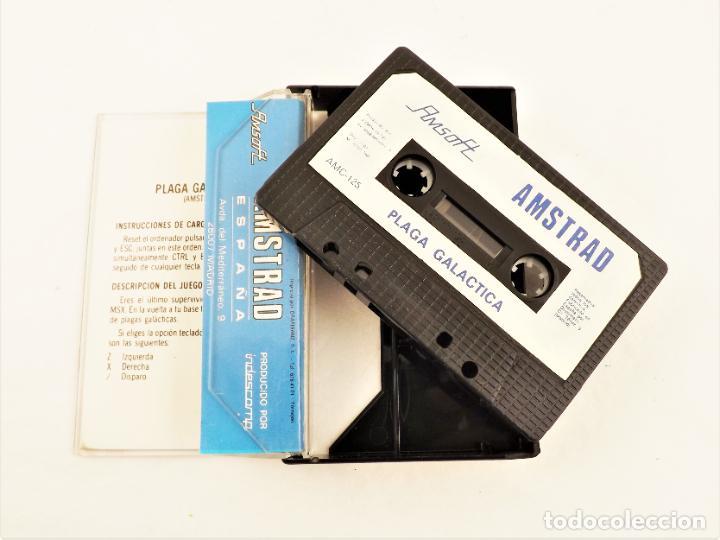 Videojuegos y Consolas: Amstrad Plaga Galáctica - Foto 2 - 208469412