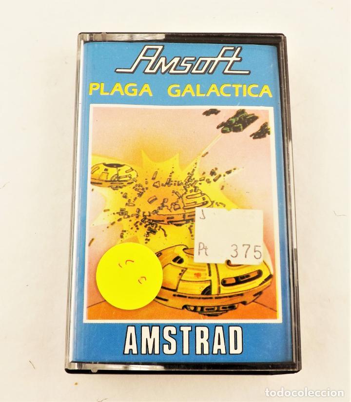 AMSTRAD PLAGA GALÁCTICA (Juguetes - Videojuegos y Consolas - Amstrad)