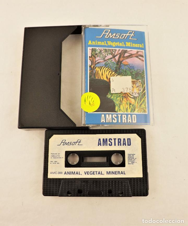 AMSTRAD ANIMAL VEGETAL MINERAL (Juguetes - Videojuegos y Consolas - Amstrad)