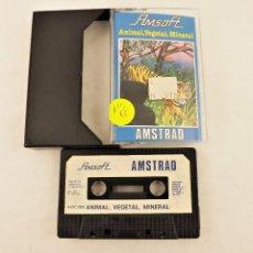 Videojuegos y Consolas: AMSTRAD ANIMAL VEGETAL MINERAL. Lote 208469710