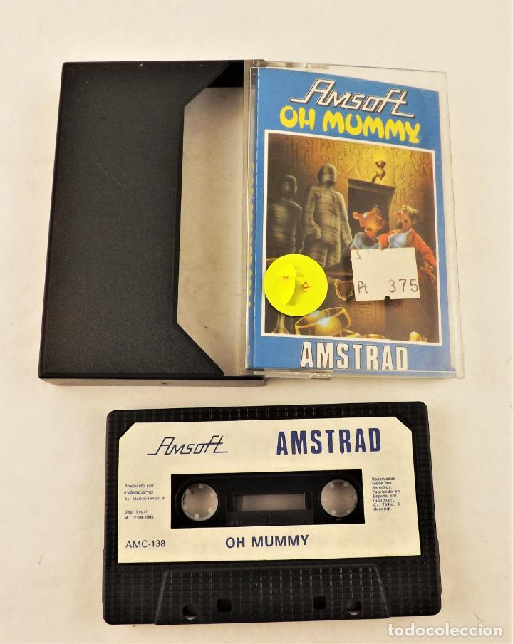 AMSTRAD OH MUMMY (Juguetes - Videojuegos y Consolas - Amstrad)