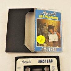 Videojuegos y Consolas: AMSTRAD OH MUMMY. Lote 208469982