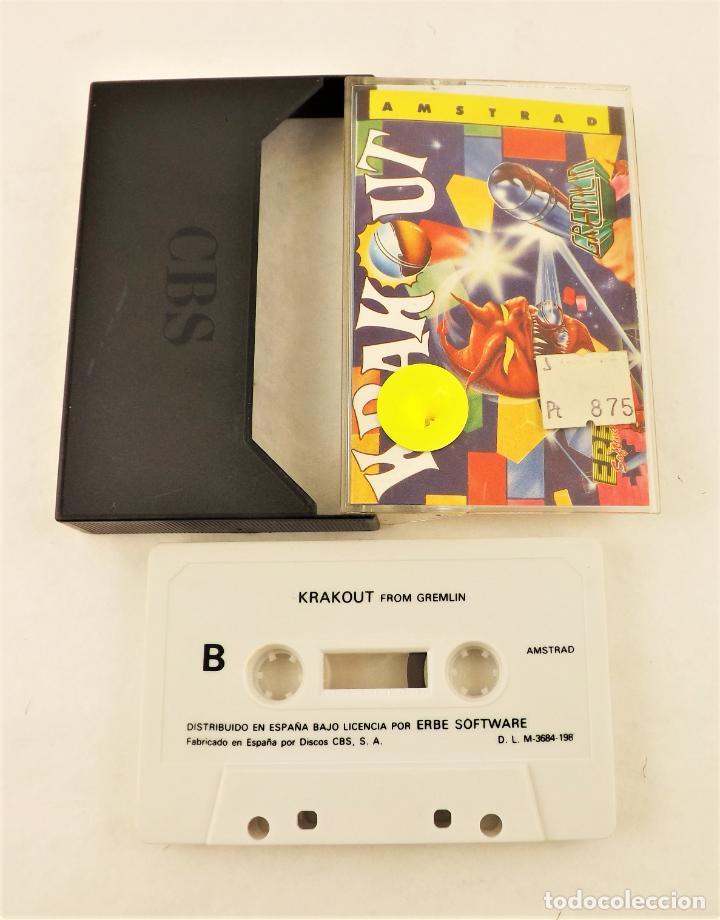 AMSTRAD KRAKOUT (Juguetes - Videojuegos y Consolas - Amstrad)