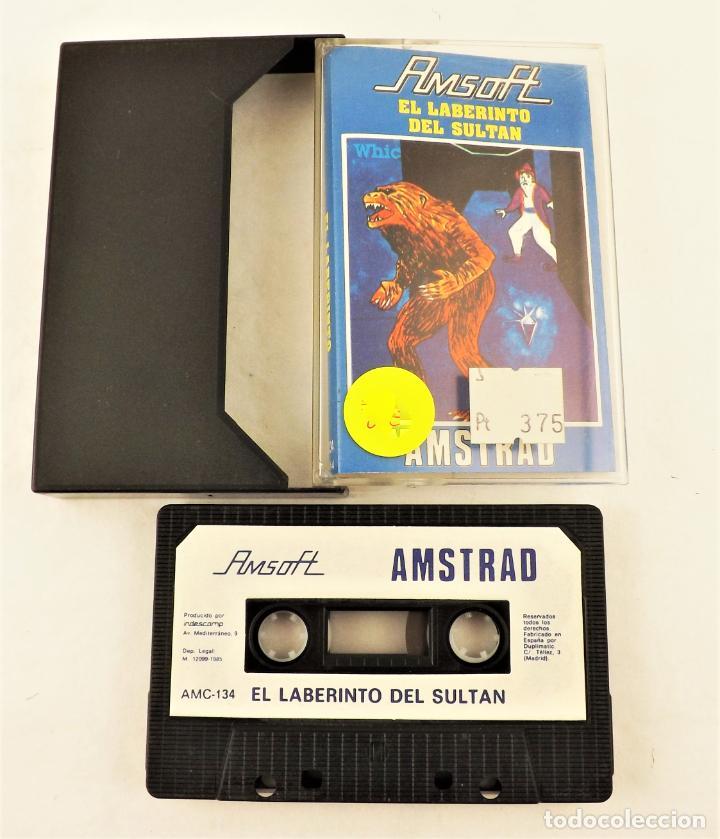 AMSTRAD EL LABERINTO DEL SULTÁN (Juguetes - Videojuegos y Consolas - Amstrad)