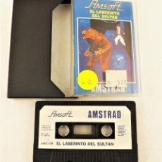 Videojuegos y Consolas: AMSTRAD EL LABERINTO DEL SULTÁN. Lote 208470596