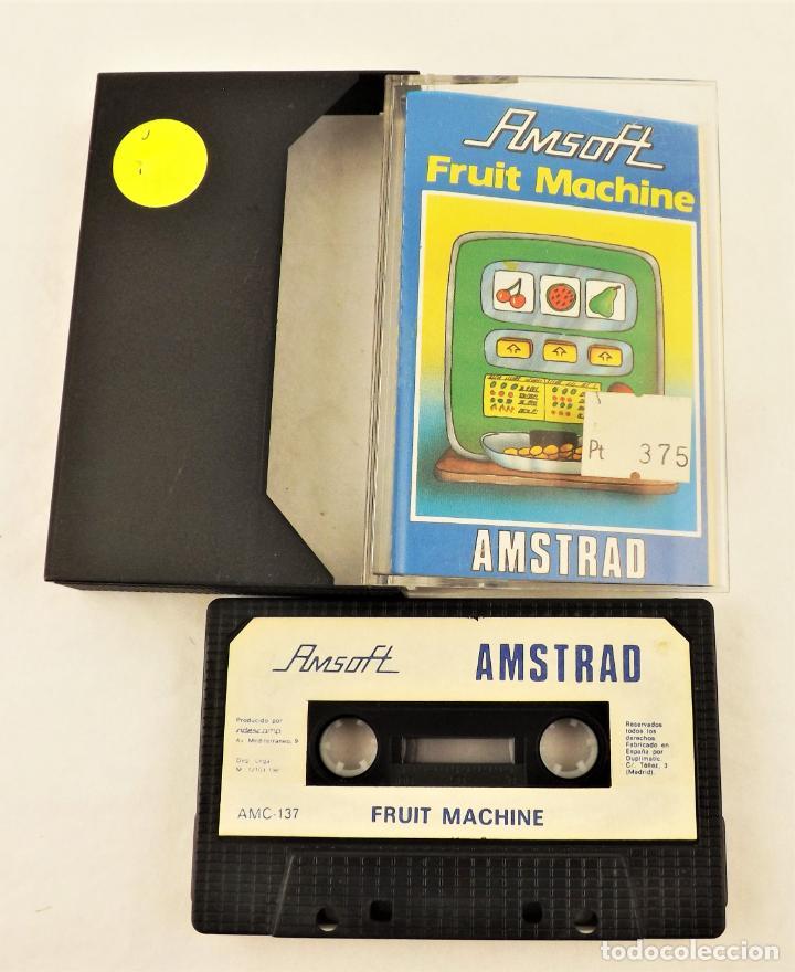 AMSTRAD FRUIT MACHINE (Juguetes - Videojuegos y Consolas - Amstrad)