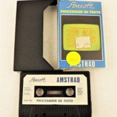 Videojuegos y Consolas: AMSTRAD PROCESADOR DE TEXTO. Lote 208471075