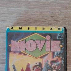 Videojuegos y Consolas: MOVIE-ESTUCHE NEGRO ALMEJA PVC-AMSTRAD CASSETTE-IMAGINE-AÑO 1986-MUY MUY DIFÍCIL. Lote 209733211