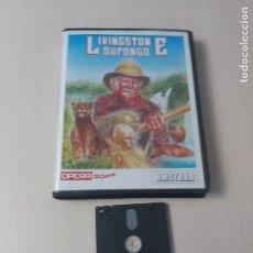 Videojuegos y Consolas: JUEGO LIVINGSTONE SUPONGO AMSTRAD DISKETTE. Lote 209866152