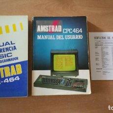 Videojuegos y Consolas: MANUAL USUARIO AMSTRAD CPC 464 + MANUAL BASIC. Lote 210137601