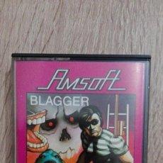 Videojuegos y Consolas: BLAGGER-AMSTRAD CASSETTE-AMSOFT-ALLIGATA SOFT-AÑO 1984-BUEN ESTADO.. Lote 211437146