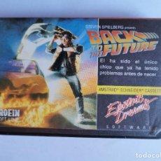 Videojuegos y Consolas: BACK TO THE FUTURE REGRESO AL FUTURO AMSTRAD CPC 464 CINTA EN ESTUCHE. Lote 211438875