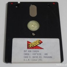 Videojuegos y Consolas: AMSTRAD CPC 6128 - OUT RUN EUROPA ERBE 1991 DISCO DISK DISC. Lote 212945001
