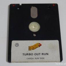 Videojuegos y Consolas: AMSTRAD CPC 6128 - TURBO OUT RUN ERBE DISCO DISK DISC. Lote 212945022