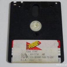 Videojuegos y Consolas: AMSTRAD CPC 6128 - FINAL FIGHT ERBE 1991 DISCO DISK DISC. Lote 212945111