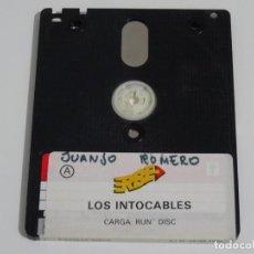 Videojuegos y Consolas: AMSTRAD CPC 6128 - LOS INTOCABLES ERBE DISCO DISK DISC. Lote 212945120
