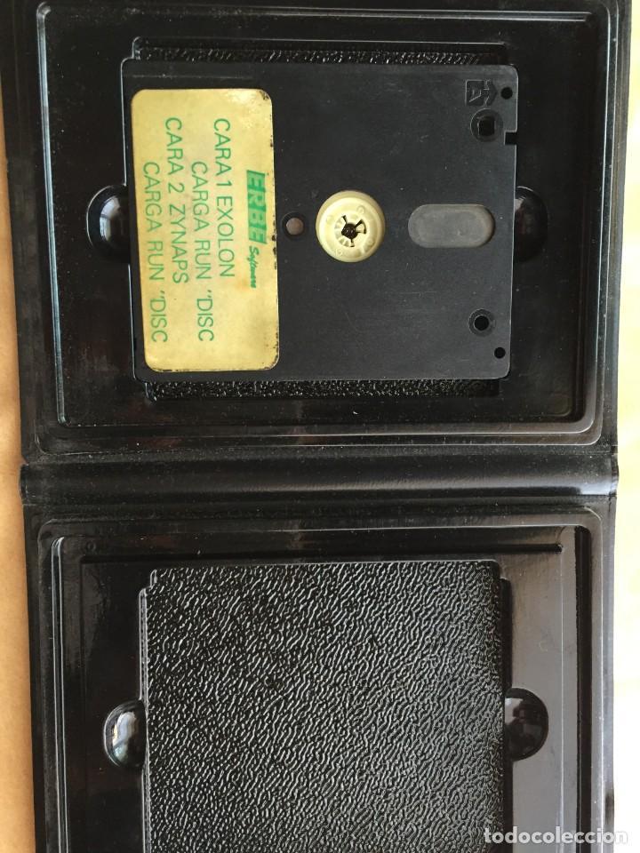 Videojuegos y Consolas: ZYNAPS EXOLON 2 POR 1 AMSTRAD DISCO - Foto 2 - 182311330