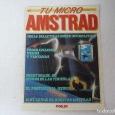 Videojuegos y Consolas: TU MICRO AMSTRAD Nº 2 / AMSTRAD CPC / RETRO VINTAGE / VIDEOJUEGOS. Lote 213532205