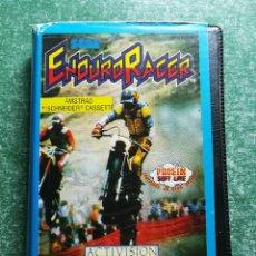 Videojuegos y Consolas: JUEGO AMSTRAD ' ENDURO RACER ' - CINTA CASSETTE. Lote 213939858