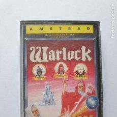 Videojuegos y Consolas: JUEGO AMSTRAD ' WARLOCK ' - CINTA. Lote 213954028