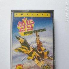 Videojuegos y Consolas: JUEGO AMSTRAD ' MIG 29 SOVIET FIGHTER ' - CINTA. Lote 213954130