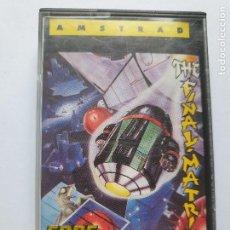 Videojuegos y Consolas: JUEGO AMSTRAD ' THE FINAL-MATRIX ' - CINTA. Lote 213954448