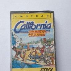 Videojuegos y Consolas: JUEGO AMSTRAD ' CALIFORNIA GAMES ' - CINTA. Lote 213954807