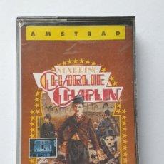 Videojuegos y Consolas: JUEGO AMSTRAD ' CHARLIE CHAPLIN ' - CINTA. Lote 213955006