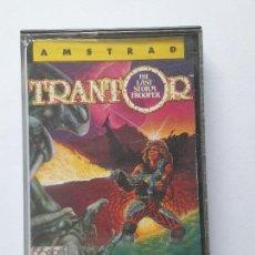 Videojuegos y Consolas: JUEGO AMSTRAD ' TRANTOR ' - CINTA. Lote 213955065