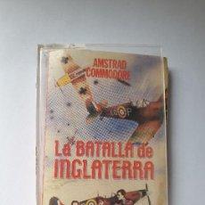 Videojuegos y Consolas: JUEGO AMSTRAD ' LA BATALLA DE INGLATERRA ' - CINTA. Lote 213955456