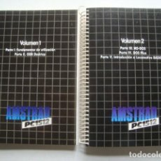 Videojuegos y Consolas: AMSTRAD PC 1512. MANUAL DE USUARIO. VOLUMEN 1 Y 2 (1987). PC1512. GEM MS-DOS LOCOMOTIVE BASIC 2 VOL.. Lote 214367503