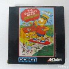 Videojuegos y Consolas: THE SIMPSONS SPACE MUTANTS / AMSTRAD CPC 464 CINTA / VER FOTOS / RETRO VINTAGE CASSETTE. Lote 214420152