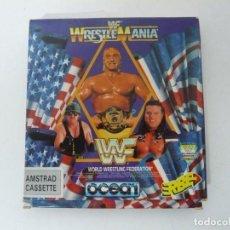 Videojuegos y Consolas: WWF WRESTLEMANIA / AMSTRAD CPC 464 CINTA / VER FOTOS / RETRO VINTAGE CASSETTE. Lote 214420287