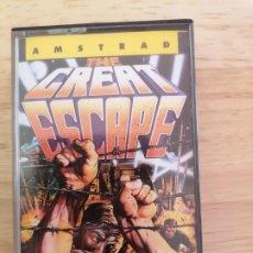 Videojuegos y Consolas: THE GREAT ESCAPE JUEGO AMSTRAD CPC 464. Lote 215003111